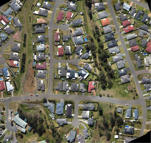 Survey and Drafting Resources Aerial Imagery services